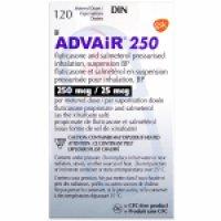 Advair (HFA Inhaler) 250/25mcg