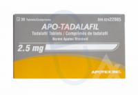 Tadalafil 2.5mg