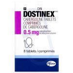 Dostinex Cabergoline 0.5 mg Tablets