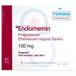 Endometrin 100 mg Vaginal Tablets