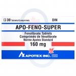 Fenofibrate (Feno-Super) 160mg