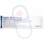 Gonal-F 75iu Injection (1 Vial W/ Diluent Kit)