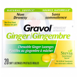 Gravol Ginger Lozenges (Chewable)