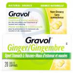 Gravol Natural Source Ginger