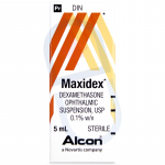 Maxidex Eye Drop Suspension 0.1%