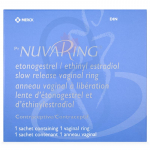 Nuvaring 11.4/2.6mg Vaginal Ring