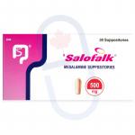 Salofalk Suppositories 500mg