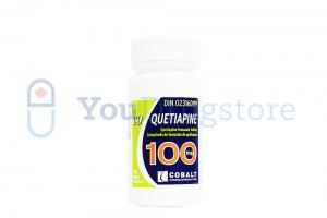 Quetiapine Fumarate 100 mg - Generic low cost price