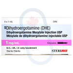 Dihydroergotamine (DHE) Injection 1mg/ml